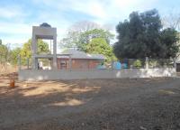 Torre cisterna aigua i escala metàl·lica