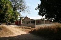 Centre de salut de Kabounkout en construcció